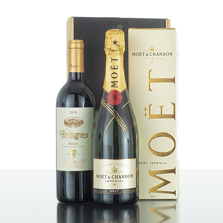Caja de vinos madera 303