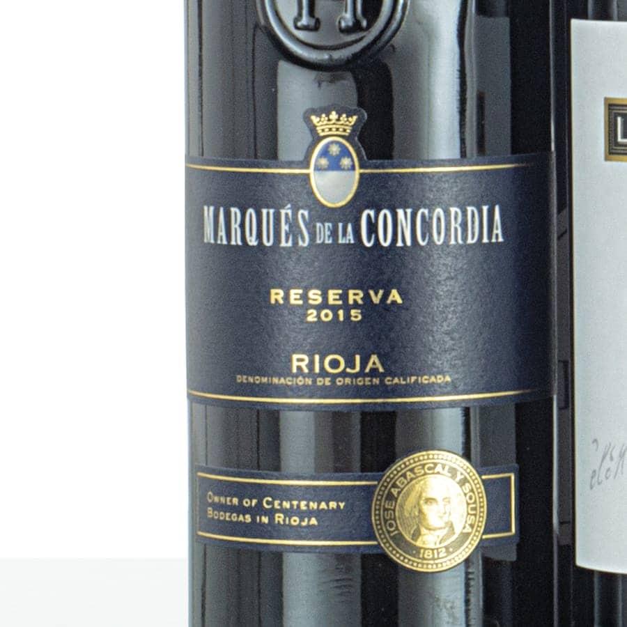 Caja de vinos madera 305