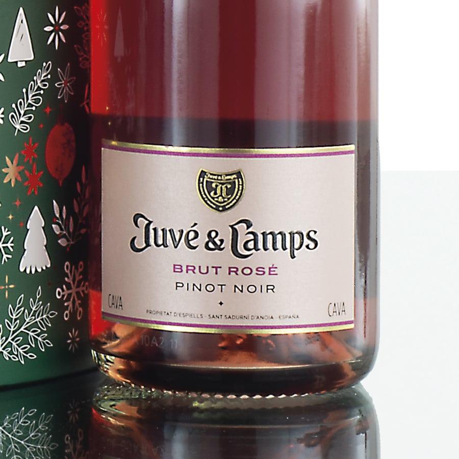 Regalo original Juvé & Camps en bola navideña