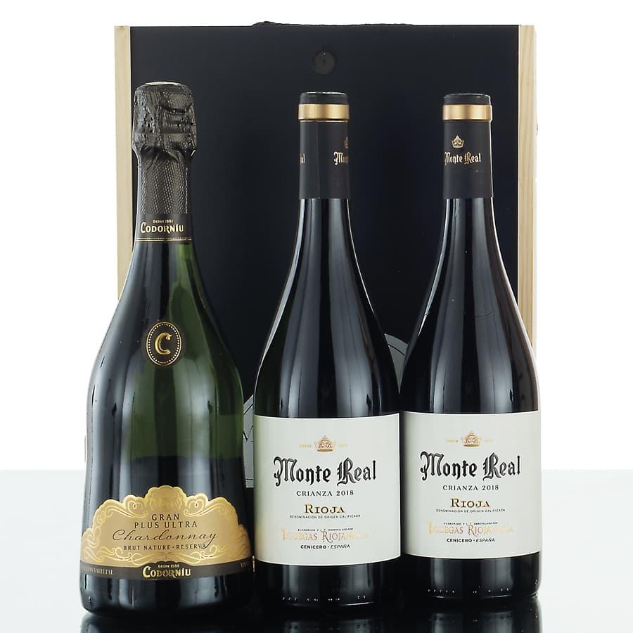 Caja de vinos madera 307